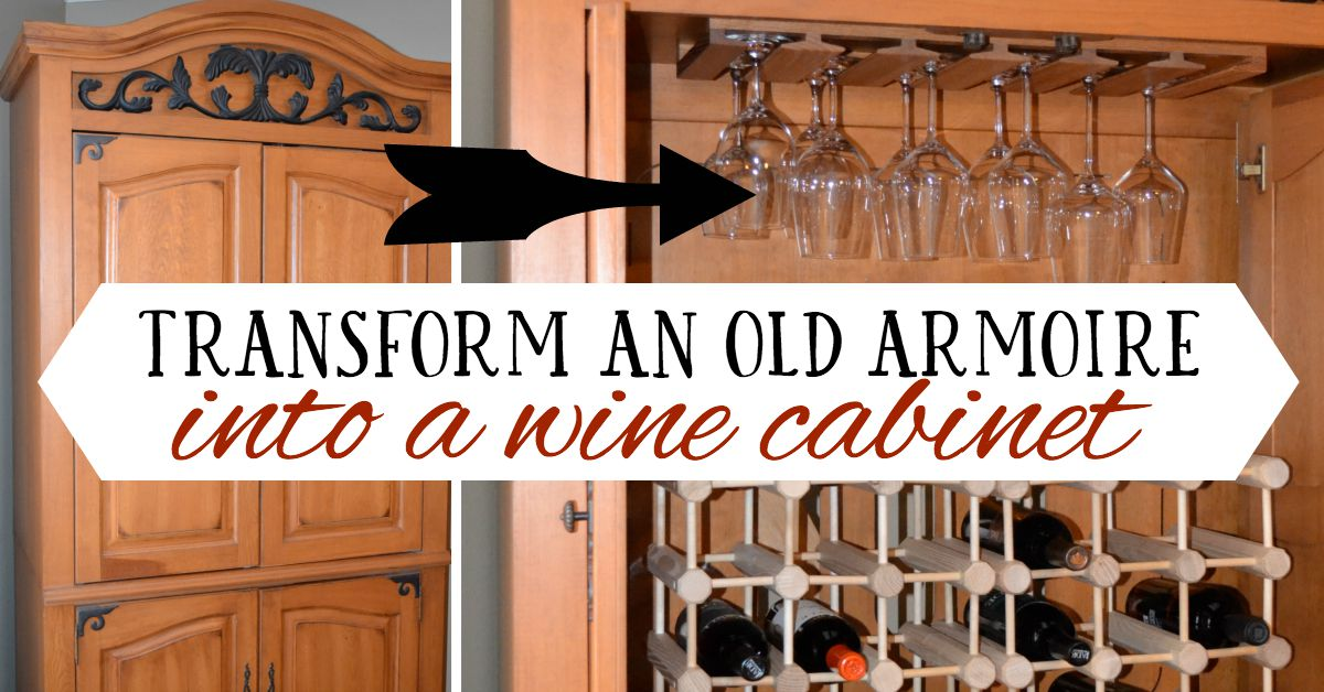 Attrayant Turn Armoire Into Wine Cabinet