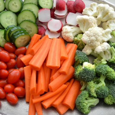 Simple Entertaining: The Homemade Veggie Tray