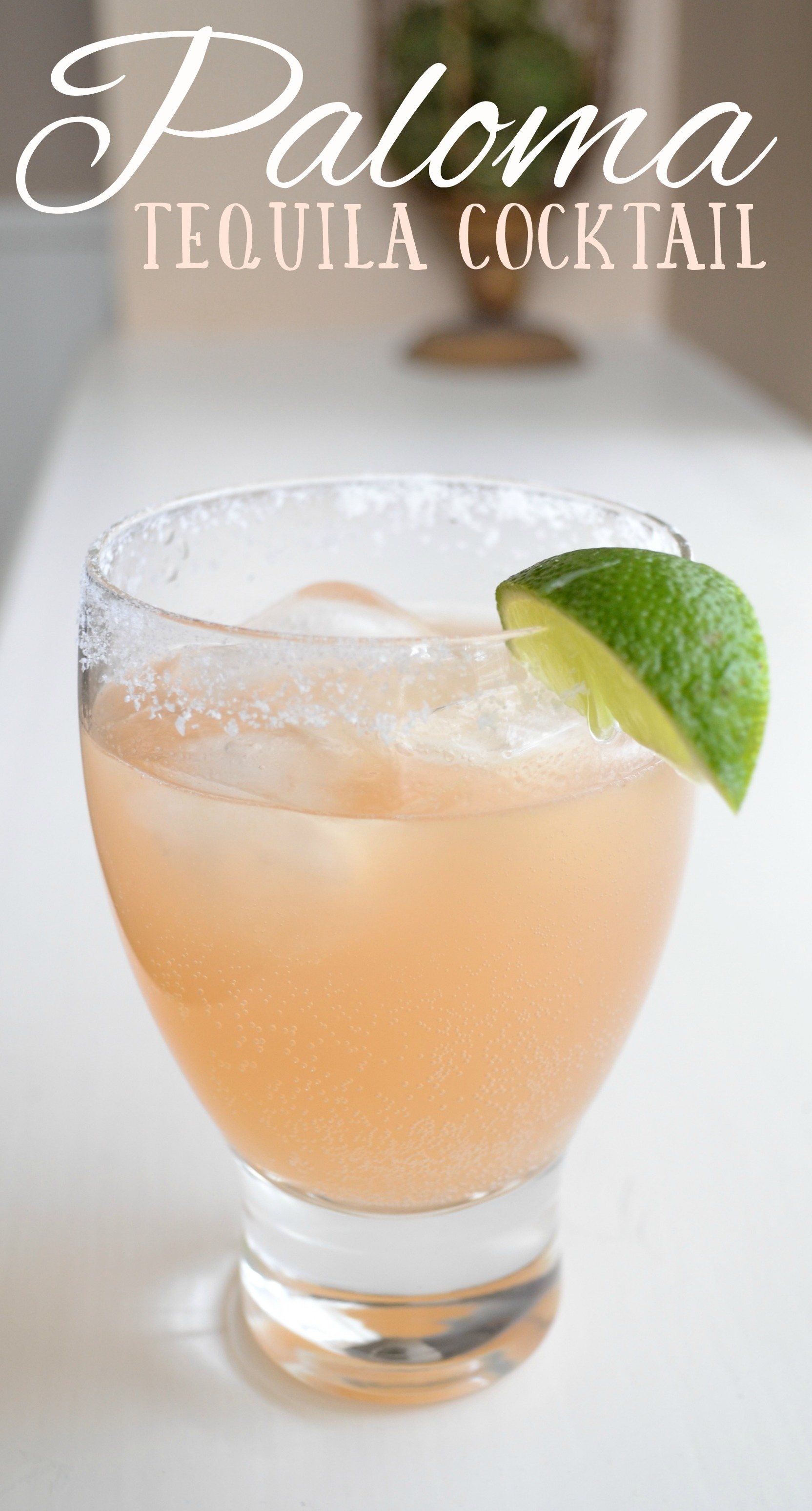 If you like margaritas, you will love palomas. Combine tequila, italian soda, and fresh lime juice.