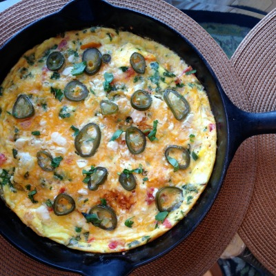 "One Skillet ""Purge the Fridge"" Frittata"
