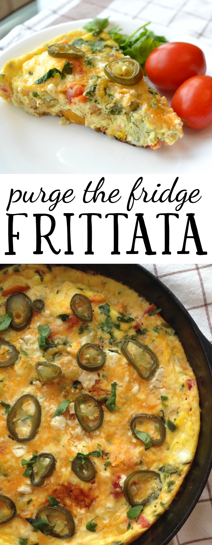 Make a delicious and healthy frittata out of all of the great ingredients you've already got in your fridge and pantry. Click through for a recipe and tons of ideas for frittatas you can make based on what you already have in stock.