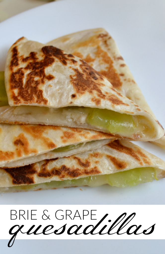 This might sound like an unusual combination, but once you try this quesadilla appetizer you'll be hooked for life! It pairs really well with white wine.
