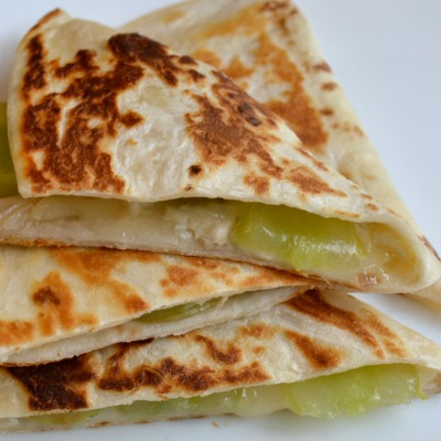 Brie and Grape Quesadillas: An Unexpectedly Awesome Combination