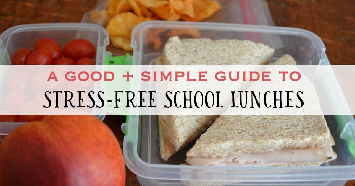 easy-school-lunches