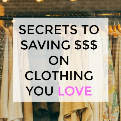 How to Shop Smart for Clothes