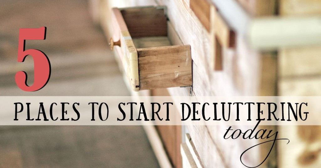 start-decluttering-today