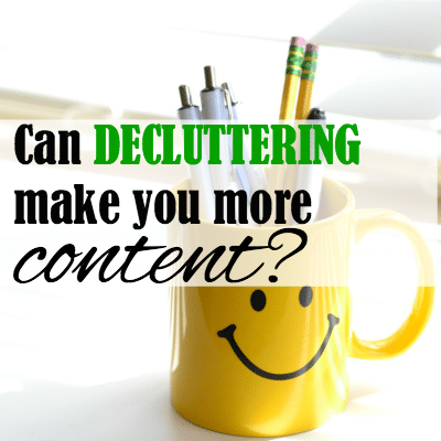 How Decluttering Can Make You More Content