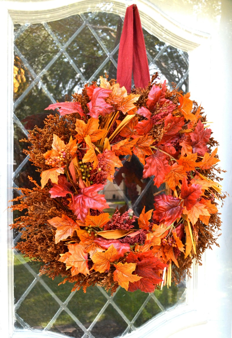 Fall wreath New In Box REDUCED!!!