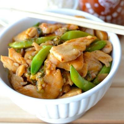 Spicy & Sweet Asian Chicken Stir-Fry