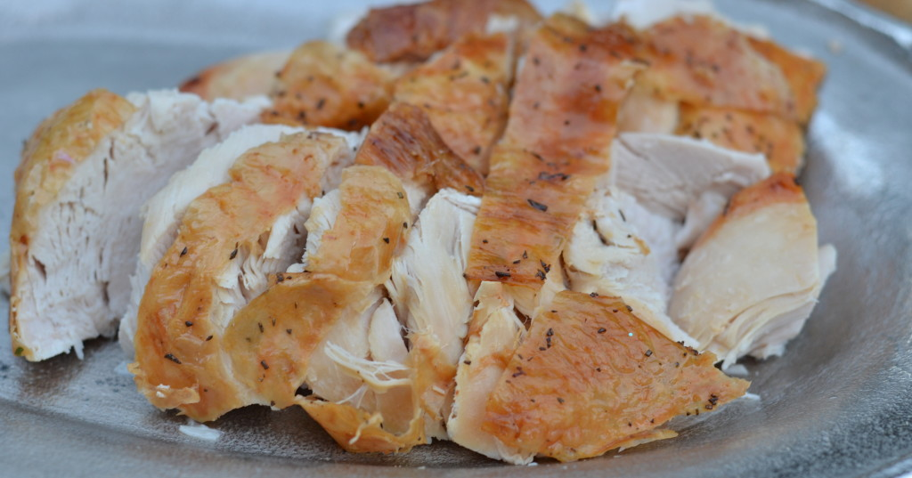 Dry Brined Roast Turkey - Juicy and Flavorful!