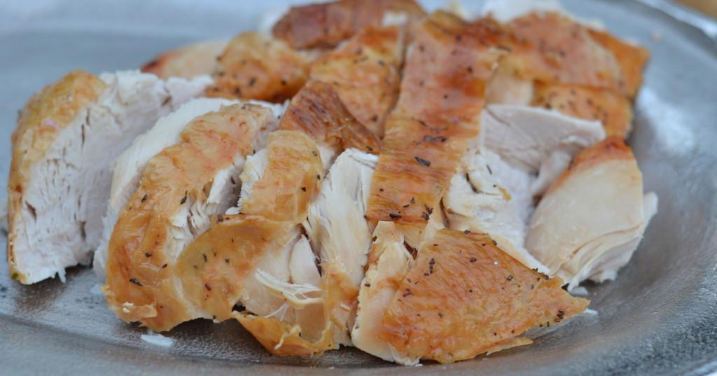 Dry Brined Roast Turkey - Juicy and Flavorful!