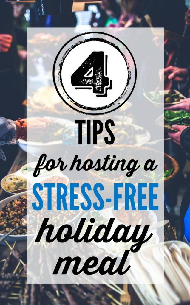 4 Tips for Hosting a Christmas Dinner Without Any Stress!