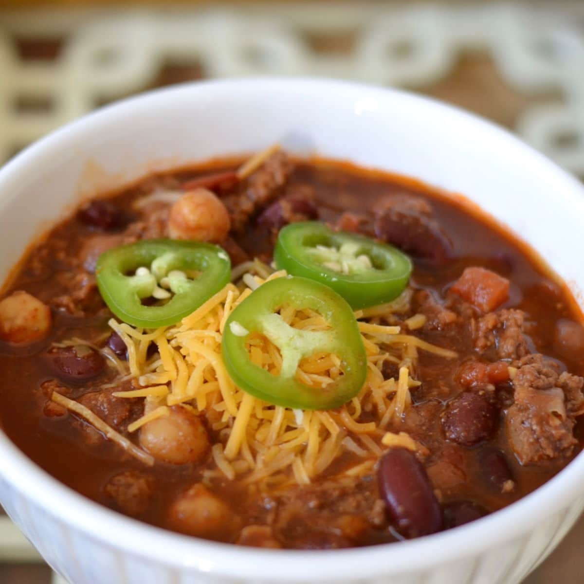 Award Winning Beef And Bean Chili Good In The Simple