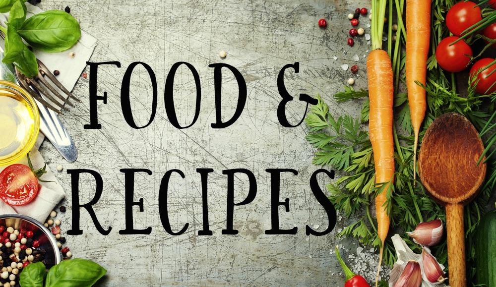 food-recipe-landing-page