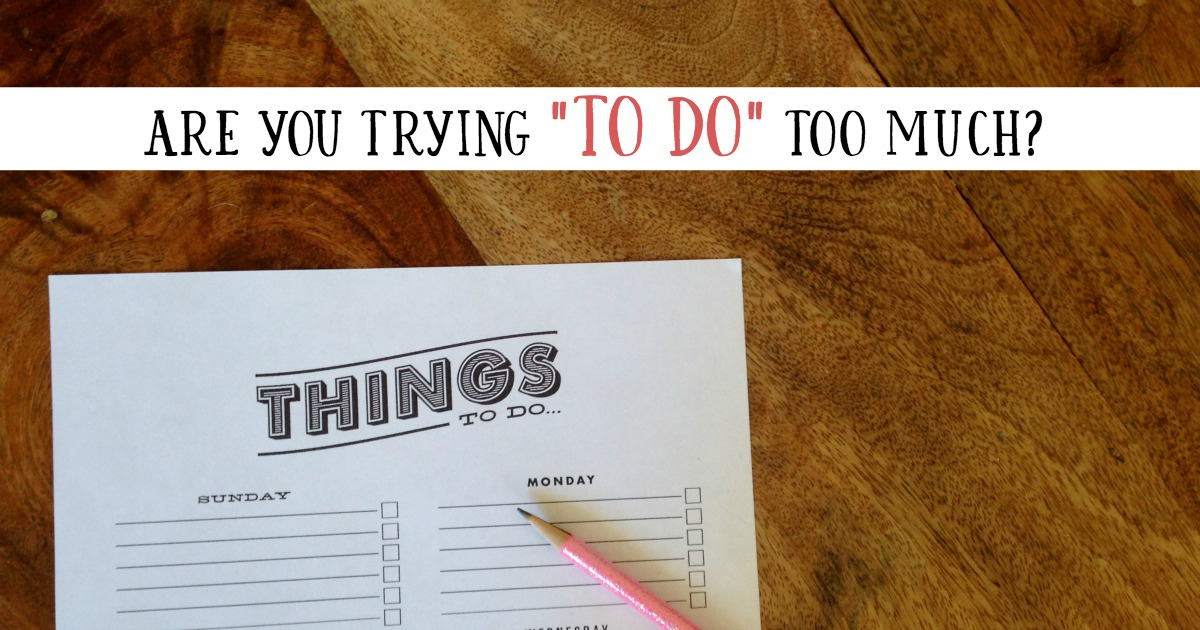 Tips for creating a daily to do list that's actually doable.