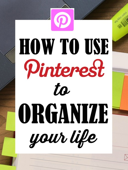 Pinterest is a lot of fun, but it can also be a great organizational tool. Here are some tips for making the most out of Pinterest, and using it as a clutter-free way to organize your life!