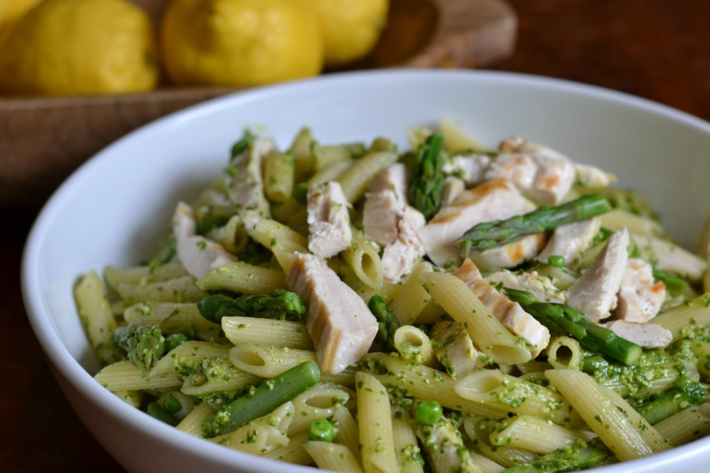 Pesto Pasta With Chicken Recipe — Dishmaps