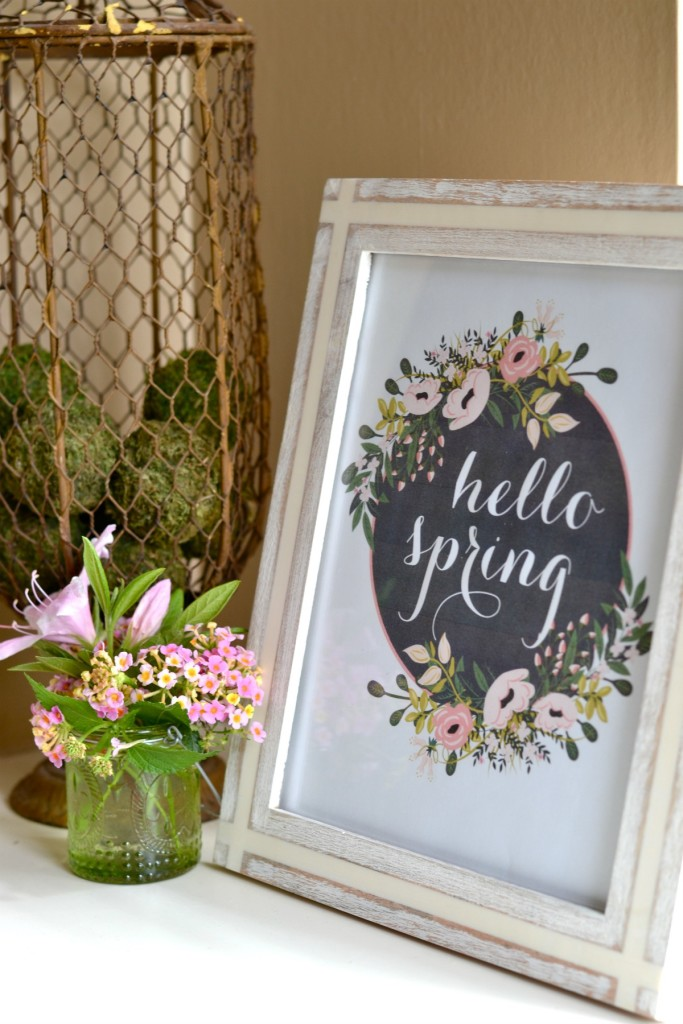 Spring Decorating Ideas: 5 Simple Spring Decorating Ideas