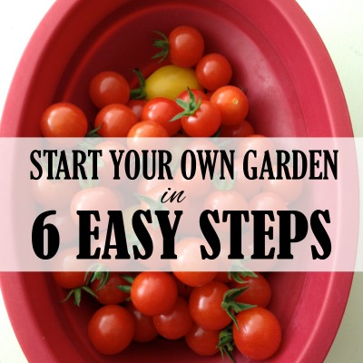 Start Your Own Garden in 6 Ridiculously Easy Steps