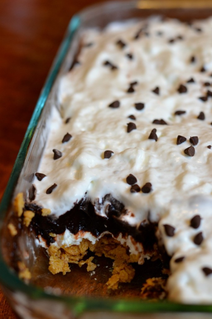 Chocolate peanut butter heaven easy no bake dessert for Desserts you can make with peanut butter