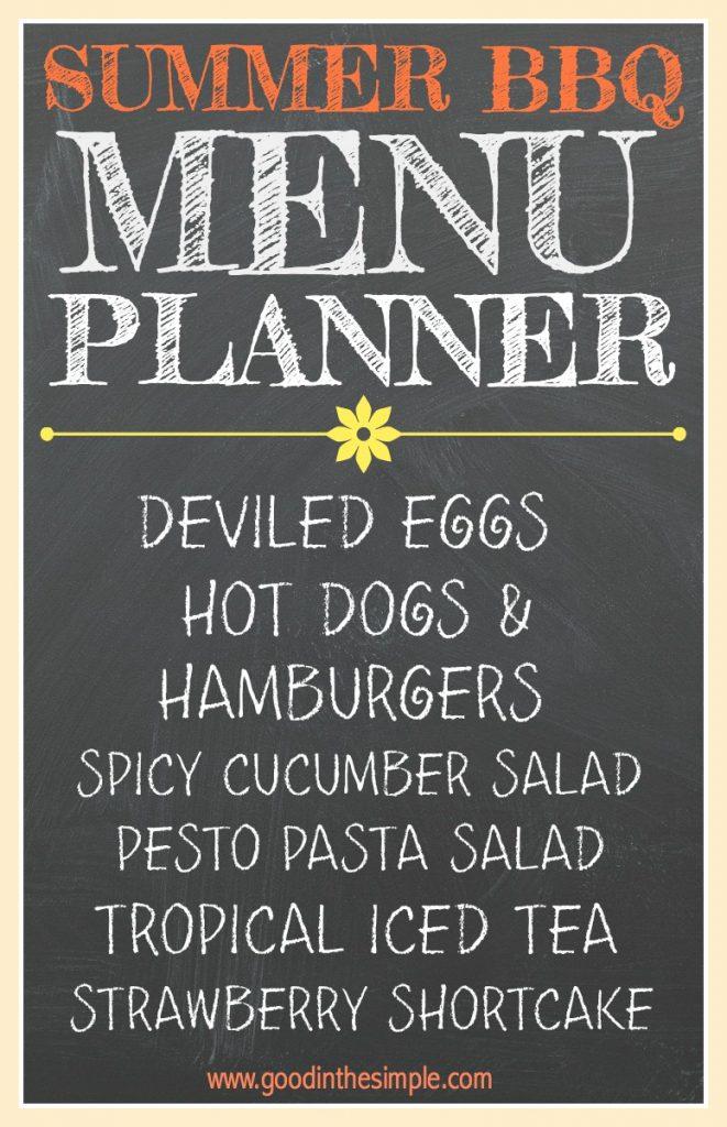 Planning A Simple Summer Bbq Recipes Menu Ideas Good