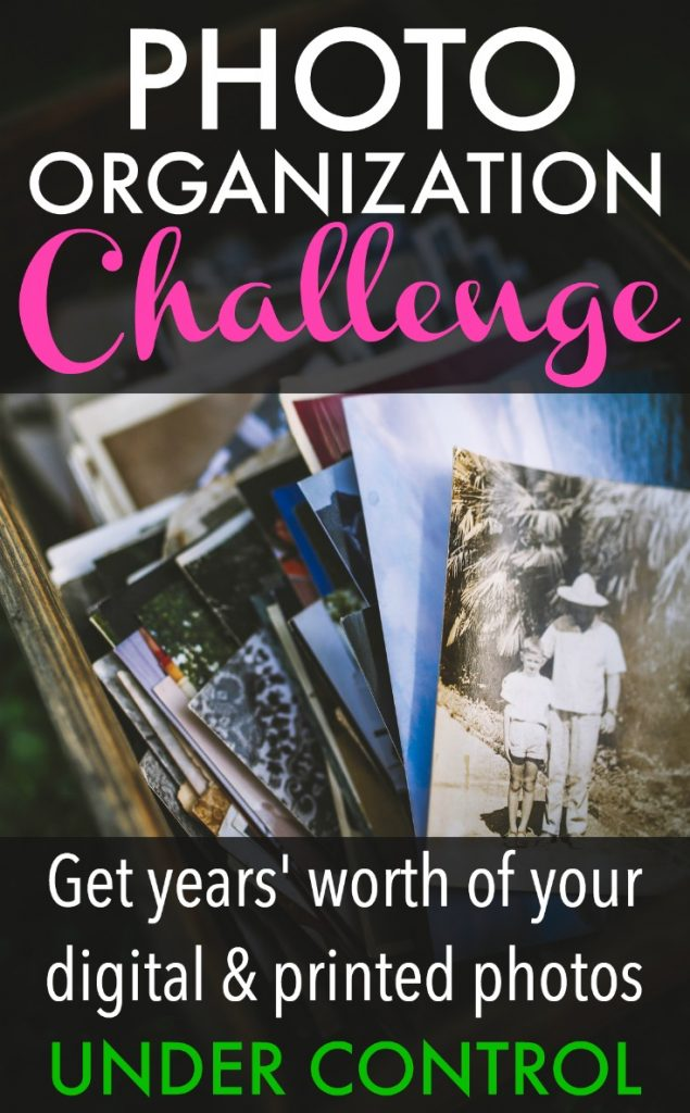 If you're overwhelmed by your digital or printed photos, and you don't know where to begin, this challenge is for you. I'm breaking things down step by step and working my way toward having years' worth of photos neatly organized and ready to display or print into books.