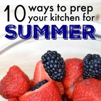 10 Summer Food Ideas