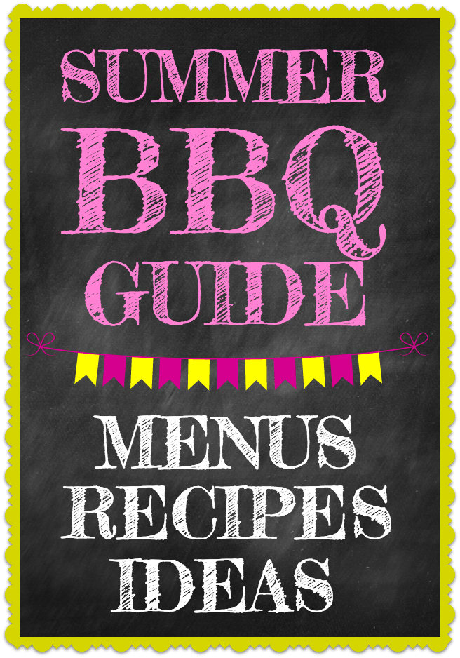 Easy summer bbq menu ideas and recipes good and simple for Summer party menu ideas