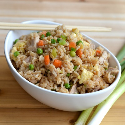 Easy Fried Rice with Egg