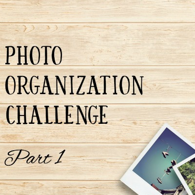 Photo Organization Challenge, Part 1: Gather & Categorize