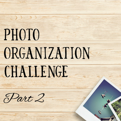 Photo Organization Challenge: Delete and Edit