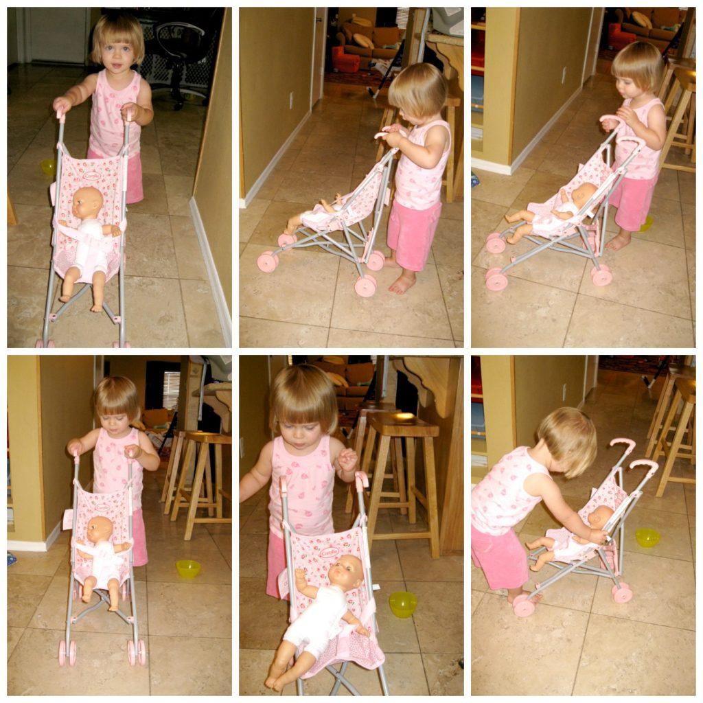 stroller collage