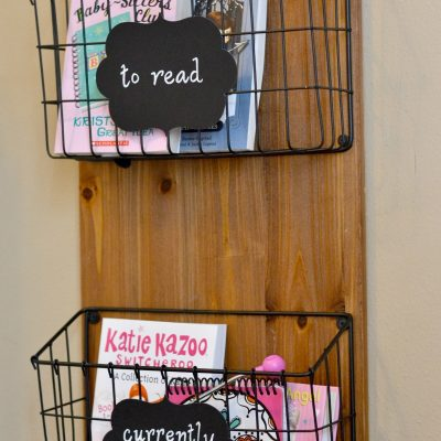 DIY Children's Book Reading Nook