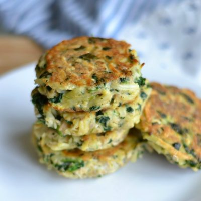 4 Ingredient Salmon Patties