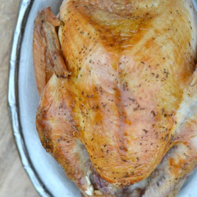 Amazing Dry Brined Roast Turkey
