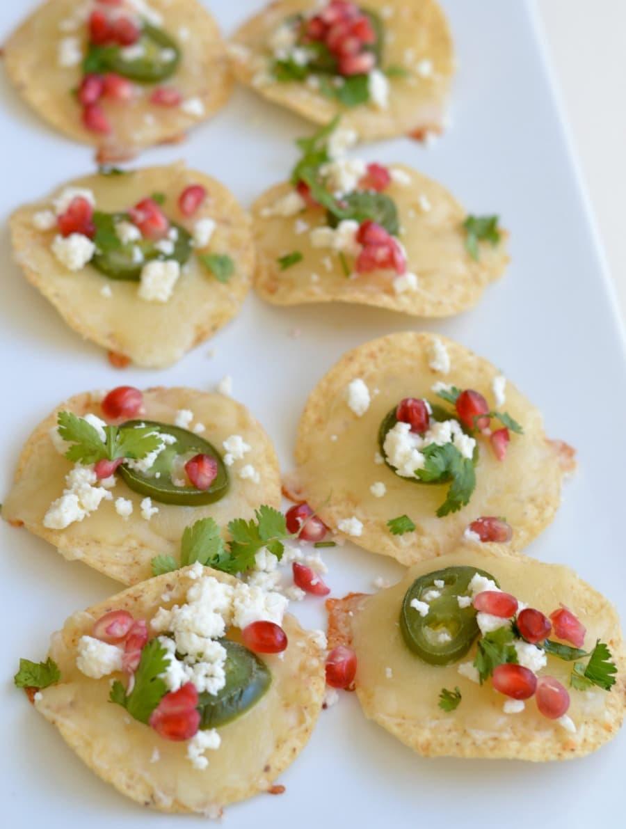 Christmas nachos, Texas style!
