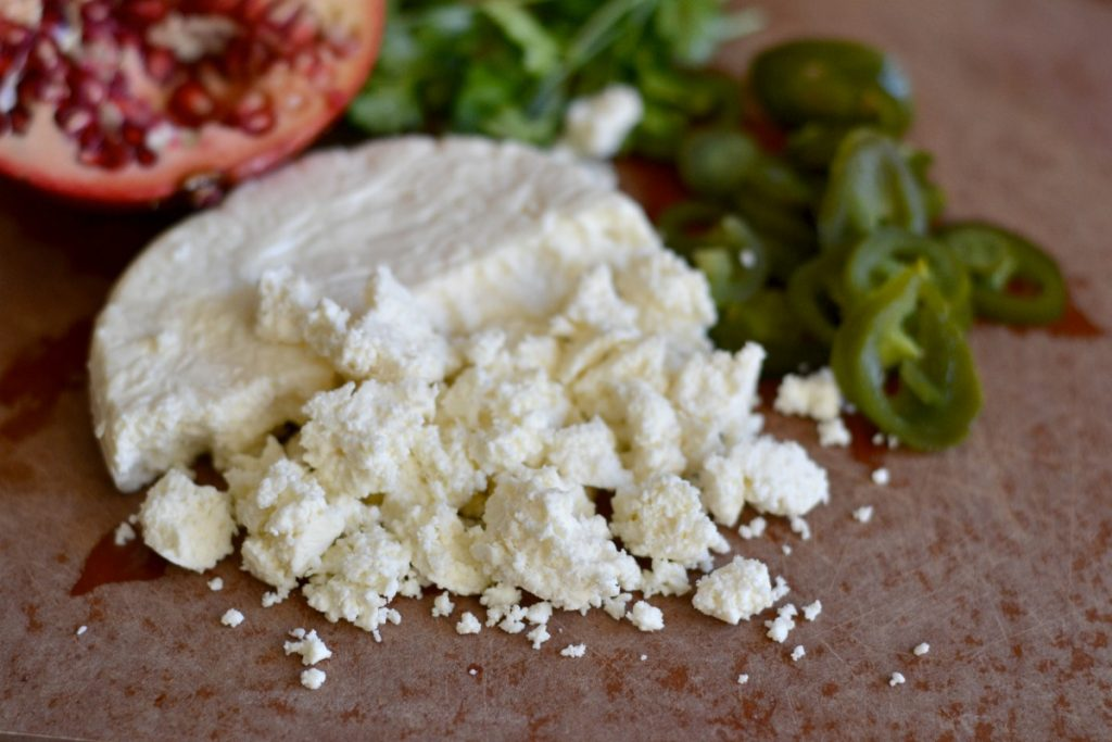Crumbled queso fresco