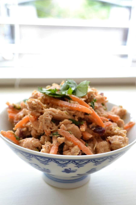 Delicious and healthy tuna salad