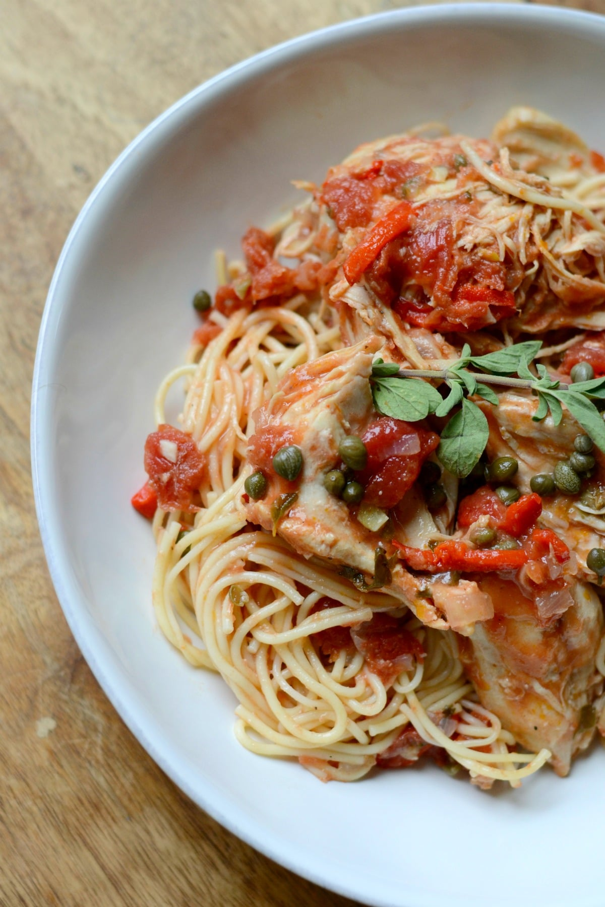 Easy Instant Pot Chicken Recipe - Chicken Cacciatore