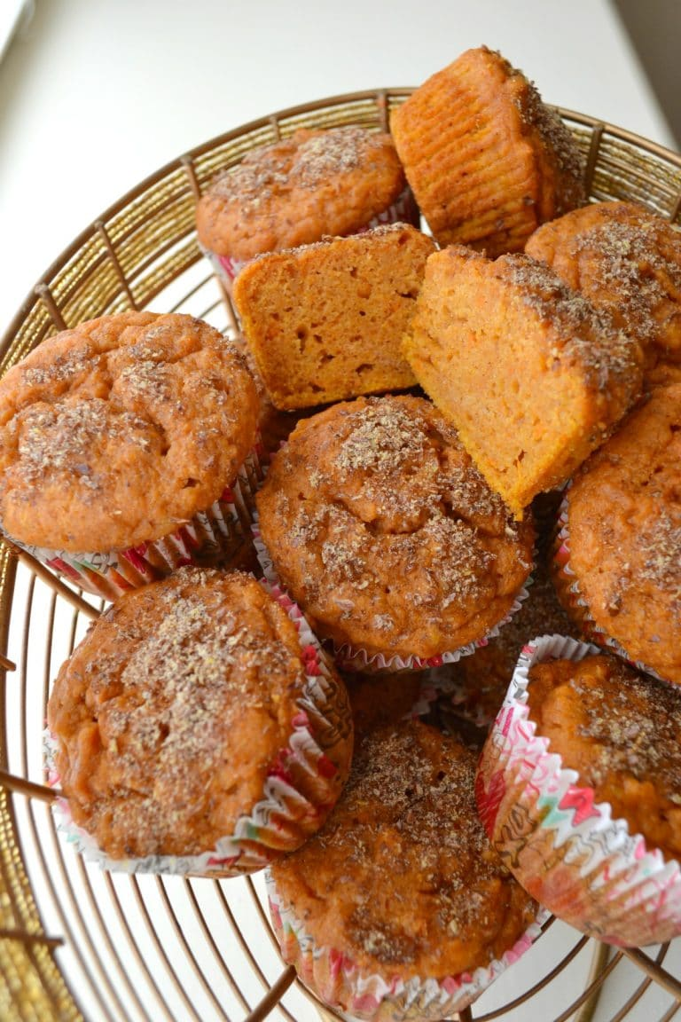 Sweet Potato Muffins | Sweet Potato Recipes You'll Crave Before and After Thanksgiving