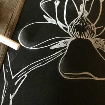 The Easy Trick to DIY Chalkboard Art and Lettering