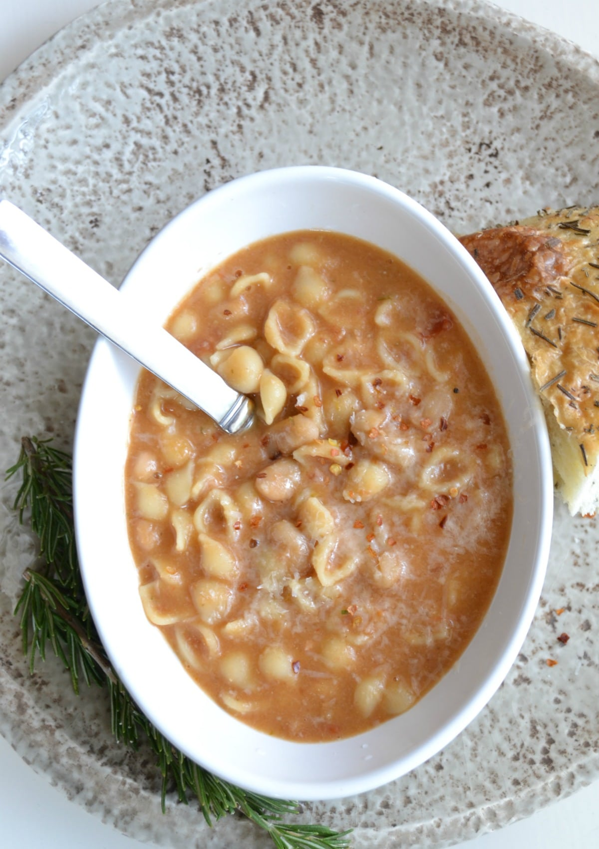 Traditional Pasta e Fagioli is comfort food at its finest.