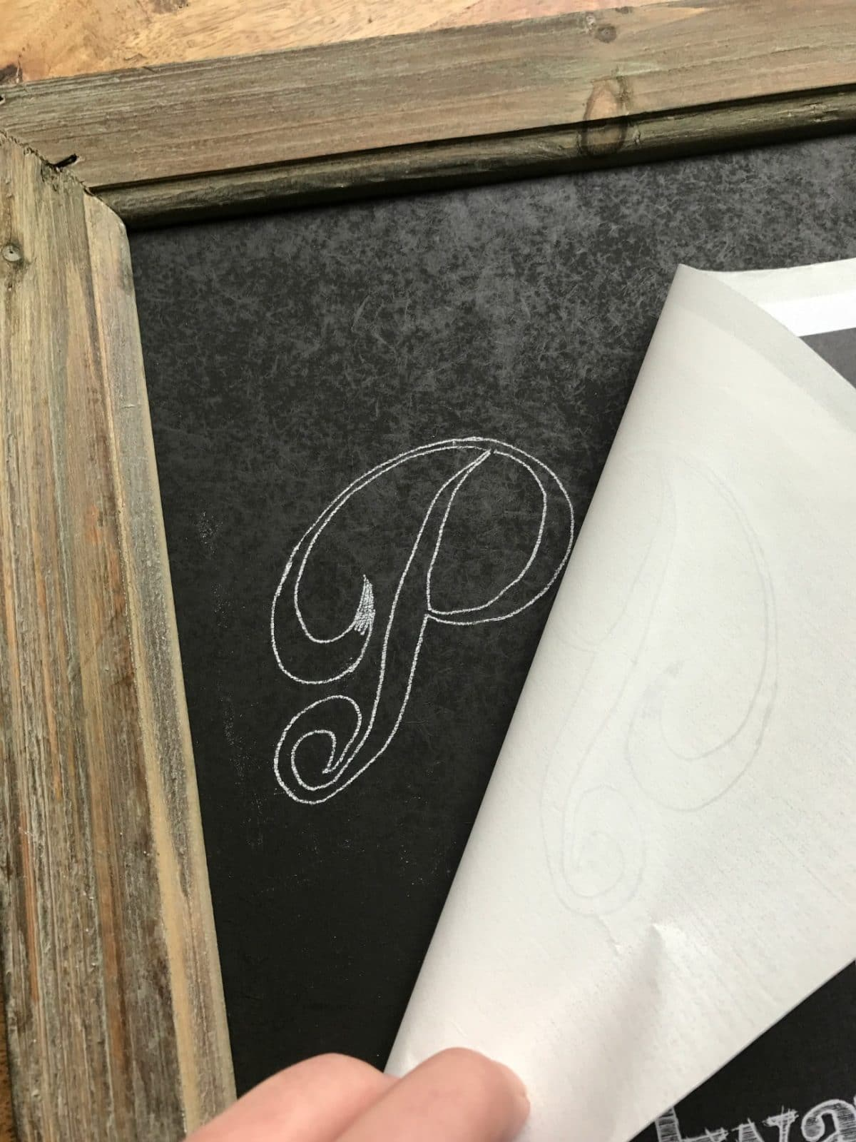 image regarding Printable Chalkboard Letters identify The Simple Trick towards Do it yourself Chalkboard Artwork and Lettering Excellent