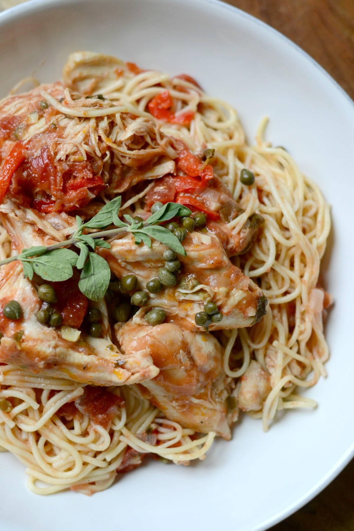 Delicious Instant Pot Chicken Cacciatore