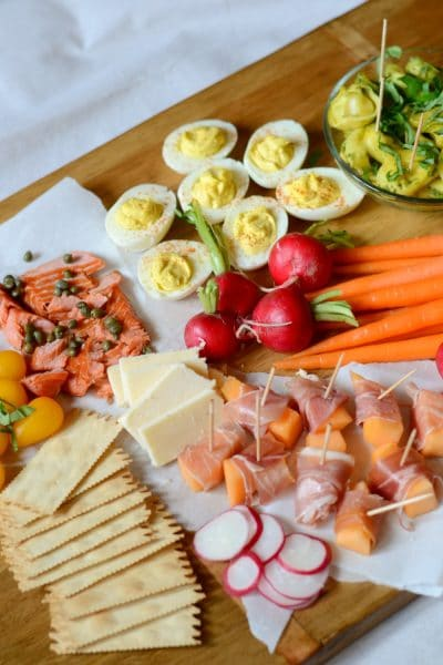 Easy Easter Appetizer Tray