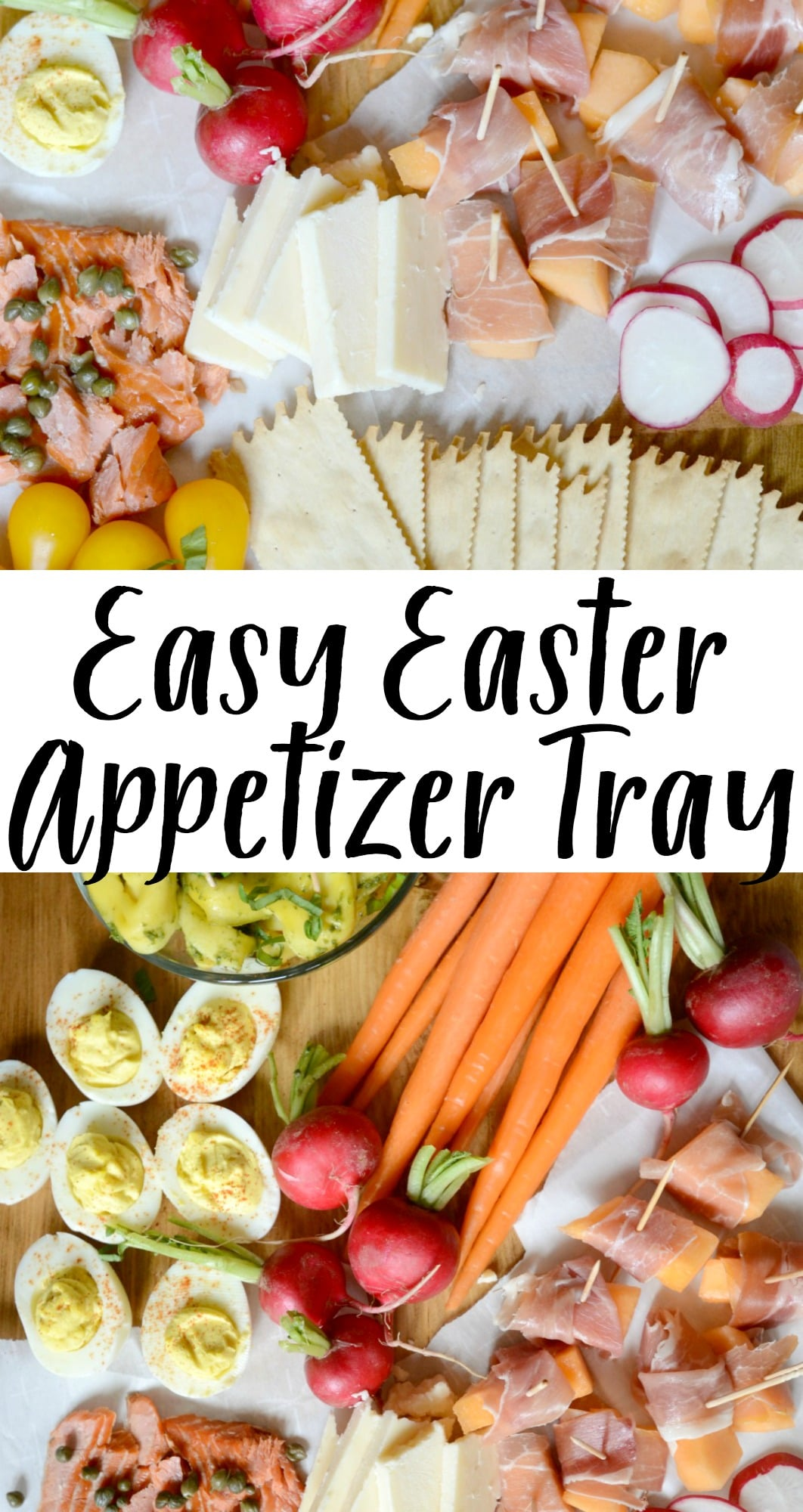 easy easter appetizer tray | good and simple
