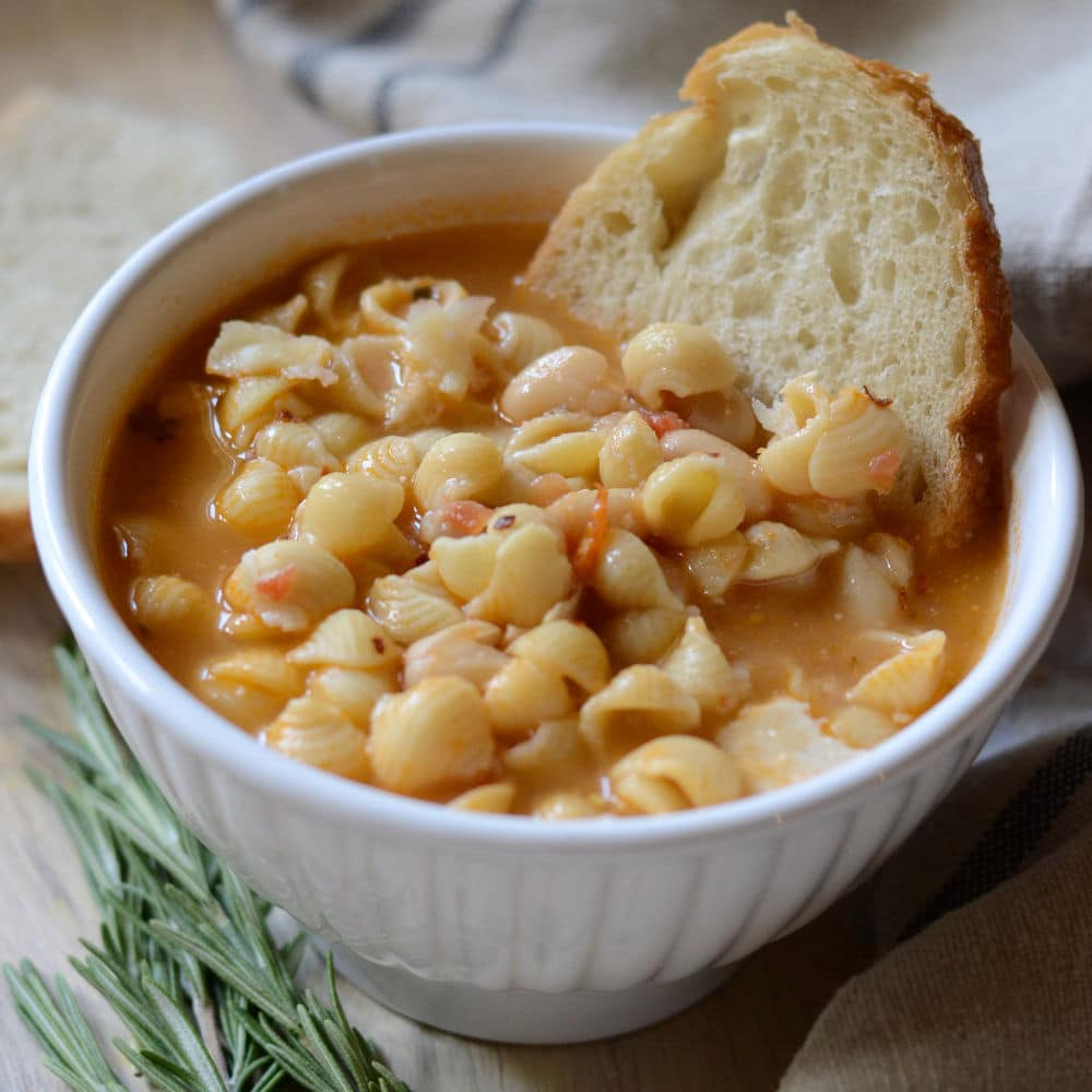 Authentic Italian Pasta e Fagioli | My Family\'s Favorite Dinner