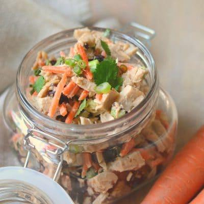 Healthy Asian Tuna Salad