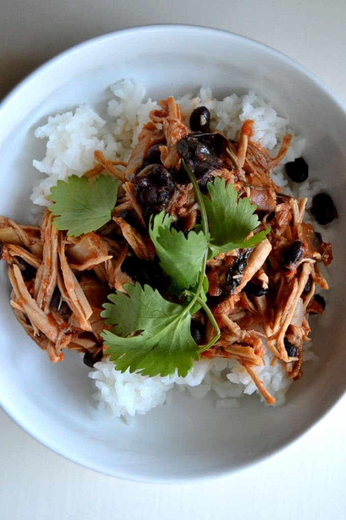 Slow cooked Mexican pork